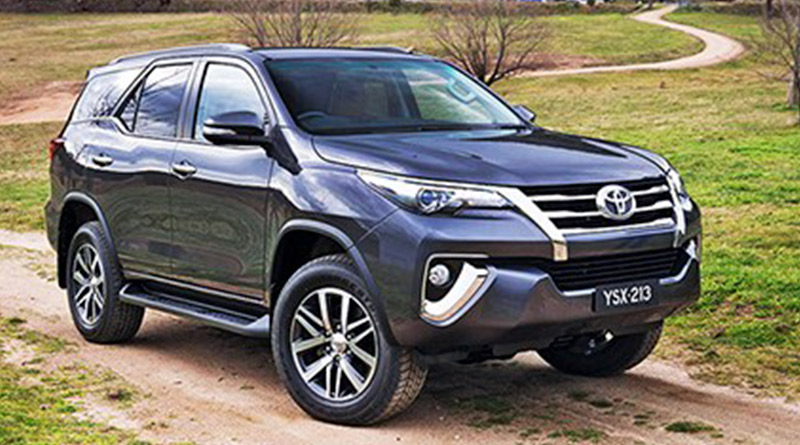 Toyota SW4 chega no Brasil , fiat