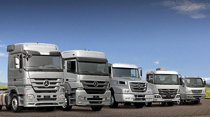 Vendas de pesados crescem-caminhões