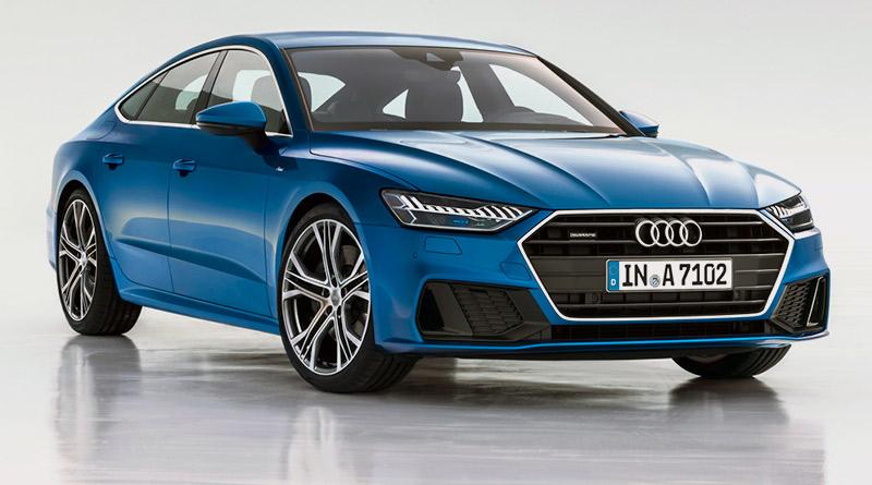 modelo-destaque-Audi-Salão do Automóvel=São Paulo-2018-veículo-Nova-geração-Audi A7-Sportback
