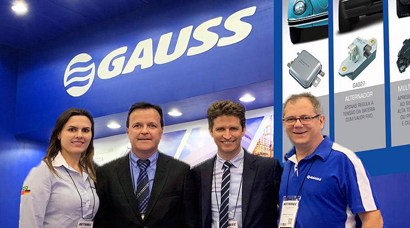 Conheça o centro de distribuição GAUSS-Gauss-automec 2019-novidade-4 pessoas