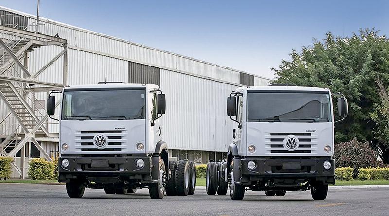 MAN D08, Constellation 24.260 e 17.260,VWCO amplia,caminhões Volkswagen semipesados,vocacionais Compactor