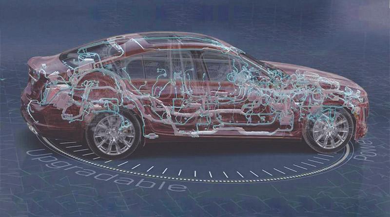 nova arquitetura eletrônica-GM veicular