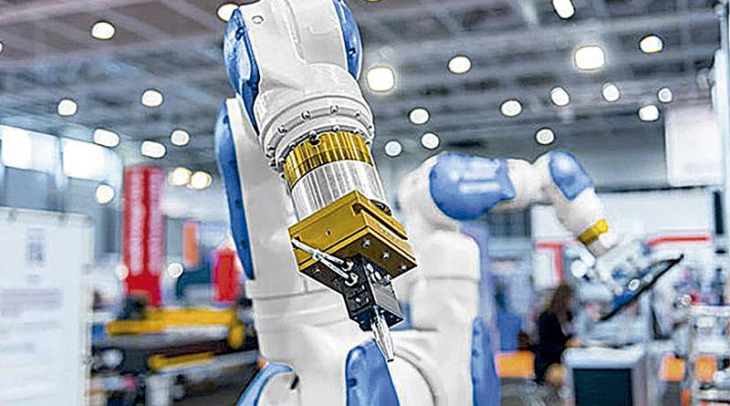 robôs colaborativos-em fábricas- futuro da indústria brasileira