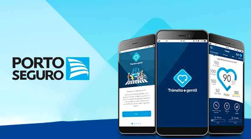 aplicativo Trânsito+gentil, Porto Seguro, Porto Seguro Auto,desempenho do condutor