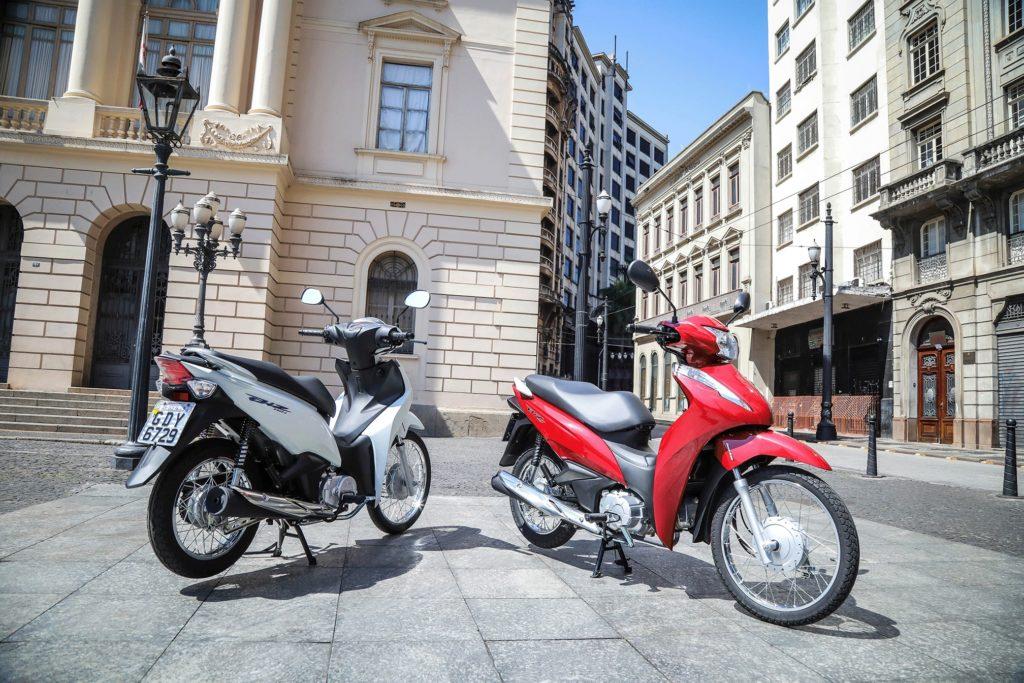 falta de peças, biz 2020, Honda CG 160, Yamaha YBR, Venda de motocicletas é afetada