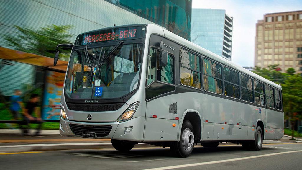 ônibus mais vendido